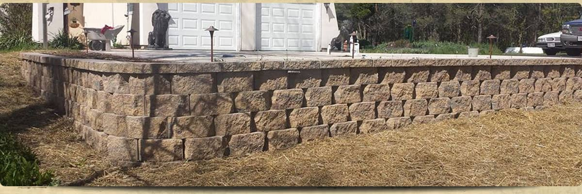 retaining wall and stone work sheboygan wi